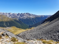 Travers Saddle Nelson Lakes NP New Zealand  x  OC