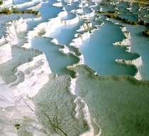 Travertine Pools Pamukkale Turkey