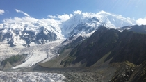Trekked  hours only to see this Rakaposhi Pakistan