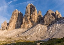Tres Cime di Lavaredo The Dolomites Northern Italy