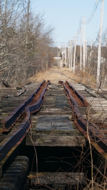 Trestle over the Danvers river OC
