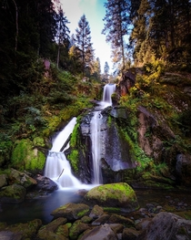 Triberg Waterfall Black Forest Germany