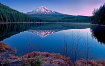 Trillium Lake Mount Hood Oregon Photo by Larry Andreasen