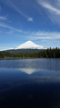Trillium Lake Mt Hood Oregon