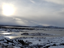 Trip to Iceland Thingvellir National Park OC  x  Bucket list trip It was amazing