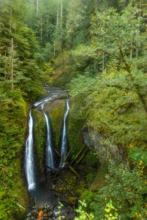 Triple Falls Columbia River Gorge Oregon USA