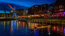 Trondheim by night Norway