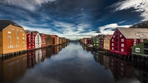 Trondheim Norway  photo by Andrew Cawa