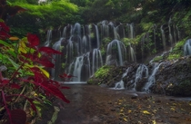 Tropical waterfall Bali  jabisanz