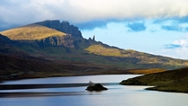 Trotternish Isle of Skye Scotland  by Elmer Duck
