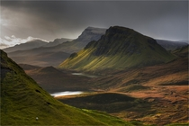Trotternish light Isle of Skye Scotland  Photo by Pascal Bobillon