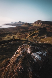 Trotternish Ridge Isle of Skye Scotland