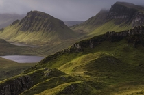 Trotternish Ridge Isle of Skye Scotland  by Bradley J Eide