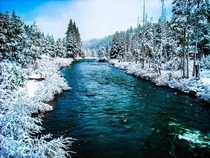 Truckee River north of Lake Tahoe