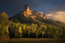 True Grit - Chimney Rock Colorado  by Sean Bagshaw x-post rUnitedStatesofAmerica