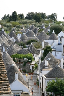 Trulli Houses in Alberobello Italy