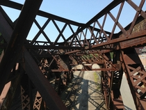 Truss Bridge in Worcester MA