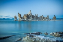 Tufa Island at Mono Lake CA x