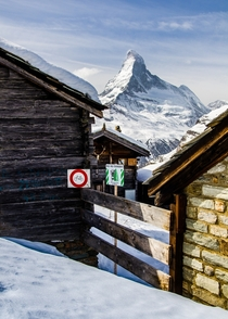 Tufteren under the Matterhorn - Valais Switzerland
