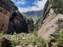 Tugela Gorge Walk Giants Castle Game Reserve South Africa