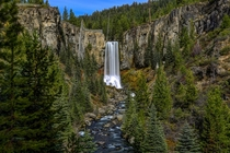 Tumalo Falls in Bend Oregon by Cole Chase Photography