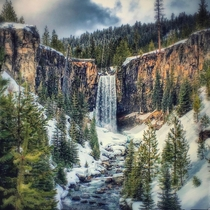Tumalo Falls Oregon Straight out of a dream