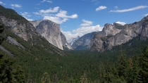 Tunnel View at Yosemite National Park Definitely the most majestic place Ive ever visited