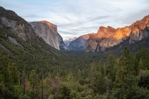 Tunnel View  Yosemite NP California USA by Matthias MH Huber