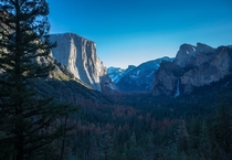 Tunnel View - Yosemite Valley California