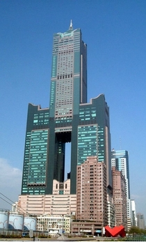 Tuntex Sky Tower in Kaohsiung Taiwan