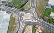 Turbo Roundabout Naaldwijk The Netherlands