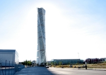 Turning Torso in Malm Sweden