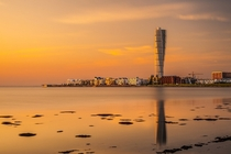 Turning Torso skyscraper tallest building in the Nordic countries Sweden
