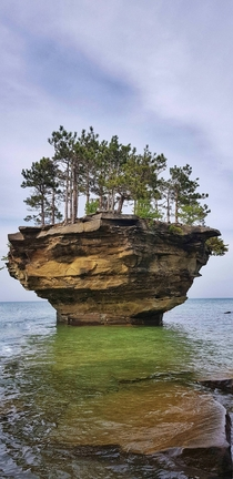 Turnip Rock Michigan