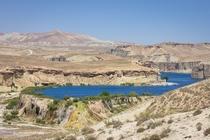 Turns out worlds largest infinity pool is hidden in the mountains of Afghanistan Band-e Amir Bamyan province