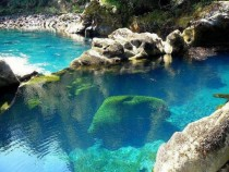 Turquoise Pool Chile