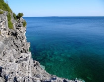 Turquoise Water at Bruce Peninsula Ontario