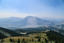 Turtle Mountain AB Canada - Frank Slide