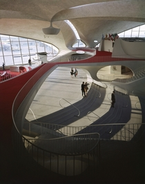 TWA Terminal in JFK Airport NY by Eero Saarinen