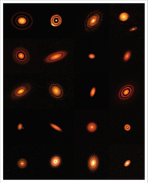 Twenty Protoplanetary Disks Imaged by ALMA
