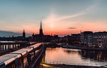 Twilight in Stockholm