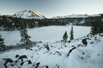 Twin Lakes Mammoth Lakes CA