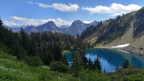 Twin Lakes Mt Baker Wilderness Wa