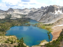 Twin Lakes Sawtooth National Wilderness Idaho