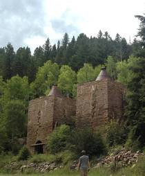 Twin Lime Kilns in Thomasville Colorado
