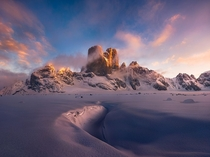 Twin Peaks taken at Baffin Island Canada by Artur Stanisz