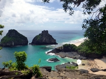 Two Brothers Hill in Fernando de Noronha Brazil