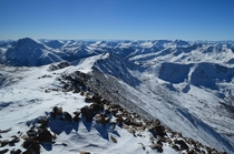 Two days ago I had Mount Elbert the highest summit in Colorado to myself For over an hour I just sat and took in this stunning view at  feet x