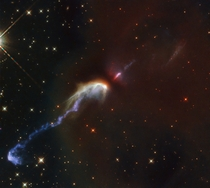 Two Herbig-Haro objects