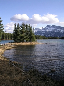 Two Jack Lake and Mount Rundle Banff AB Canada OC x